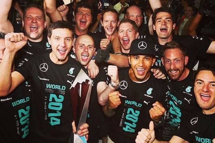 Lewis Hamilton swept to his victory in the Russian Grand Prix