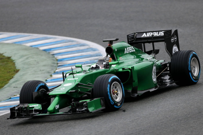 F1: Caterham files for bankruptcy