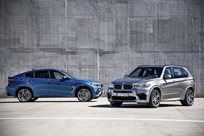 Introducing: The new BMW X5 M and new BMW X6 M