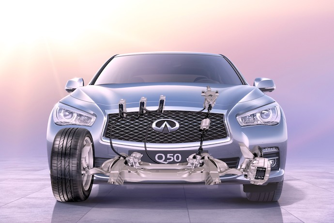 Video: Another Award for Infiniti's Direct Adaptive Steering