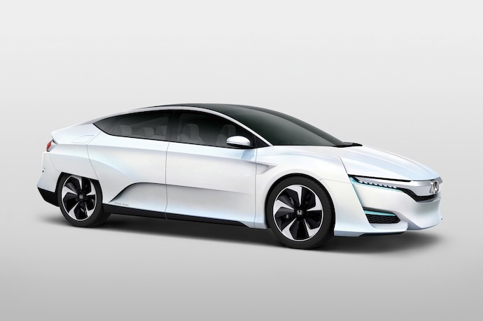 Honda Announce All-New Fuel-Cell Vehicle, The FCV Concept