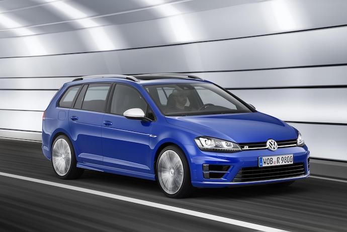 Volkswagen Unveils New Golf R Estate