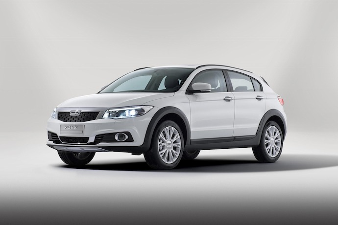 World Premiere: The New Qoros 3 City SUV 1.6T