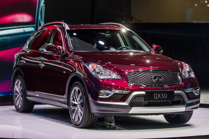 All New Infiniti QX50 unveiled at Guangzhou Auto Show