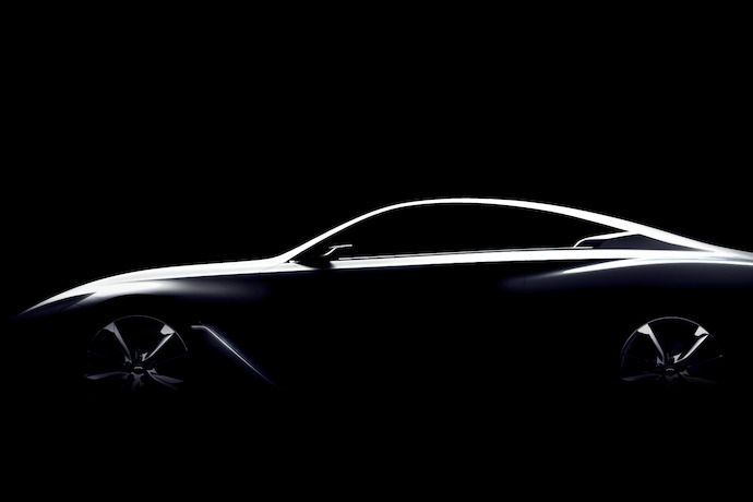 Infiniti Q60 Concept First Look