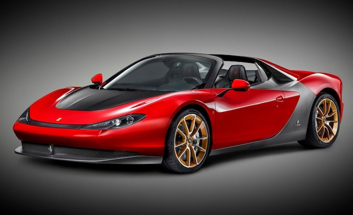The First Ferrari Sergio delivered to the UAE