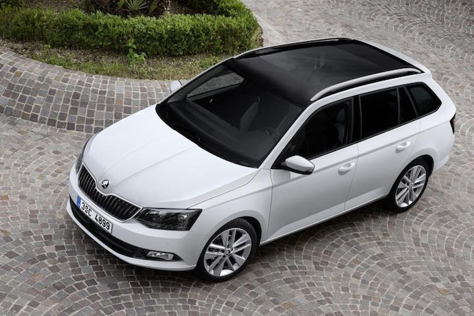 SKODA's New Fabia Estate production starts
