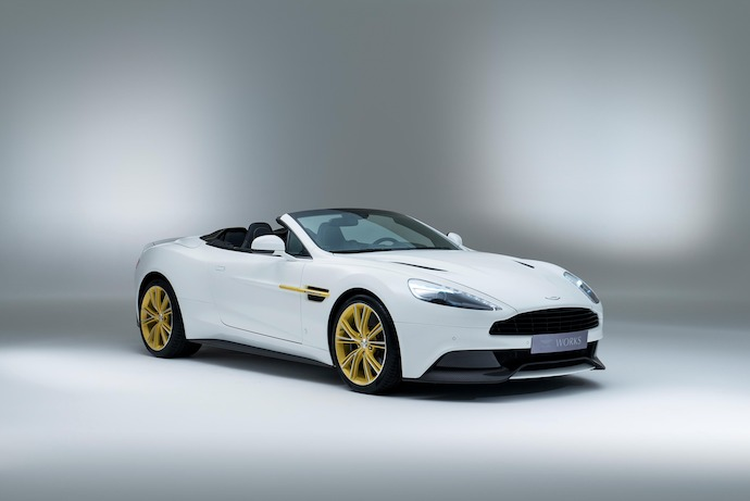 Aston Martin Works' 60th Anniversary Limited Edition Vanquish