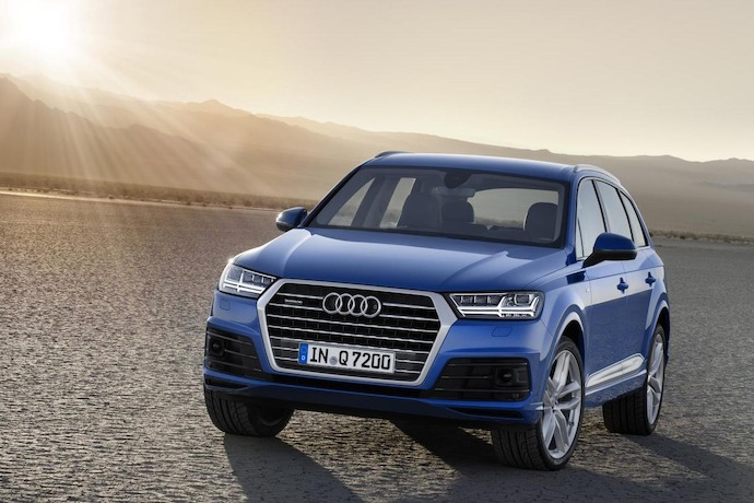 All-New Audi Q7 Set For Detroit 2015 World Debut