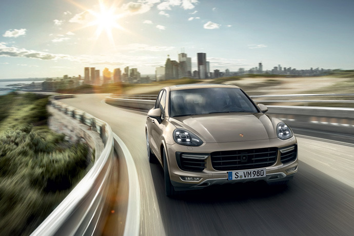 2015 Porsche Cayenne drops in!