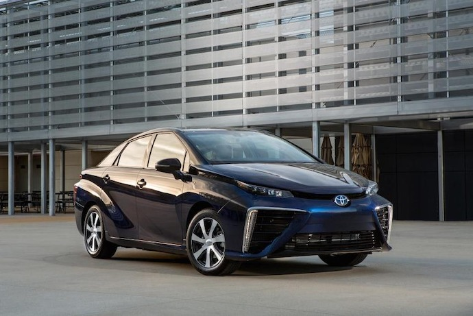 Order Bonanza For Toyota Mirai Hydrogen Fuel Cell Car