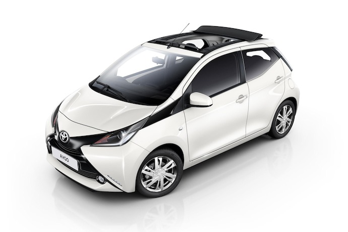 More Fun With Aygo's X-Wave Open Top Option