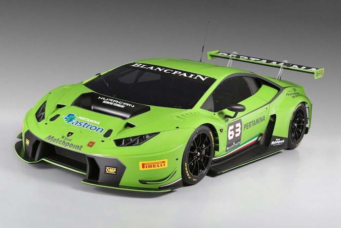 World premiere of Lamborghini Huracan GT3 by Automobili Lamborghini