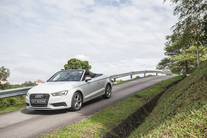 Audi A3 Cabriolet 1.4 TFSI (A) Review