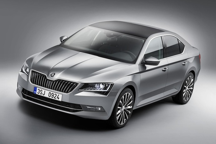 New crisply-styled SKODA flagship set to make its mark