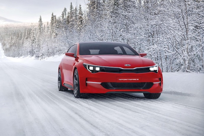 World Premiere: The KIA Sportspace Concept