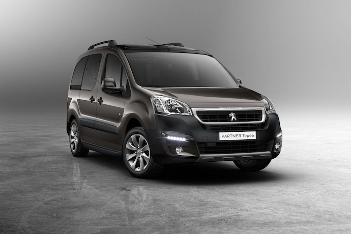 Introducing: The New Peugeot Partner Tepee