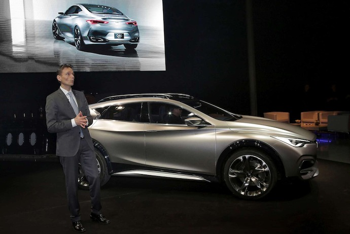 Infiniti reveals QX30 Concept at Geneva International Motor Show