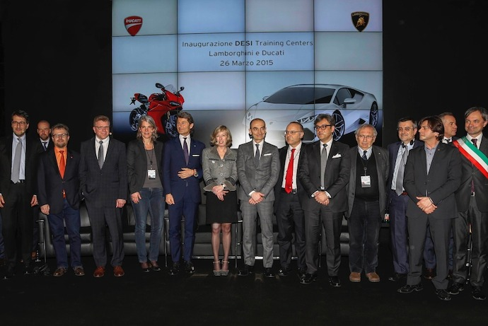 Successful start for social project of Lamborghini and Ducati in Italy
