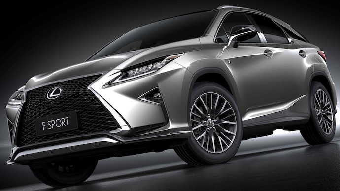New Lexus RX Range to Feature Turbo Power