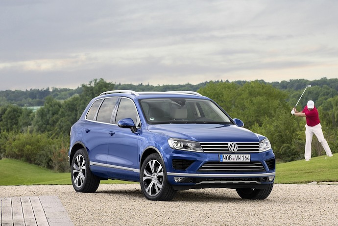 New design and new technologies for the luxurious VW Touareg