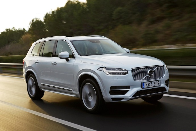 XC90 T8 Twin Engine is the world's most powerful and cleanest SUV