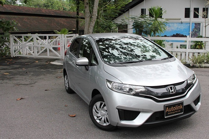 2015 Honda Fit 1.3 G F-Package (A)