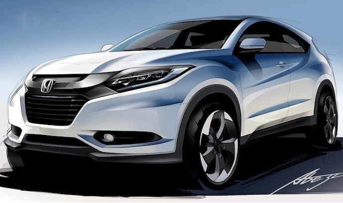 All new Honda HR-V combines dynamism of a Coupe with the toughness of an SUV