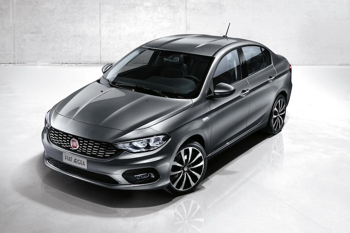 New Fiat Aegea Project Debuts at Istanbul Motor Show