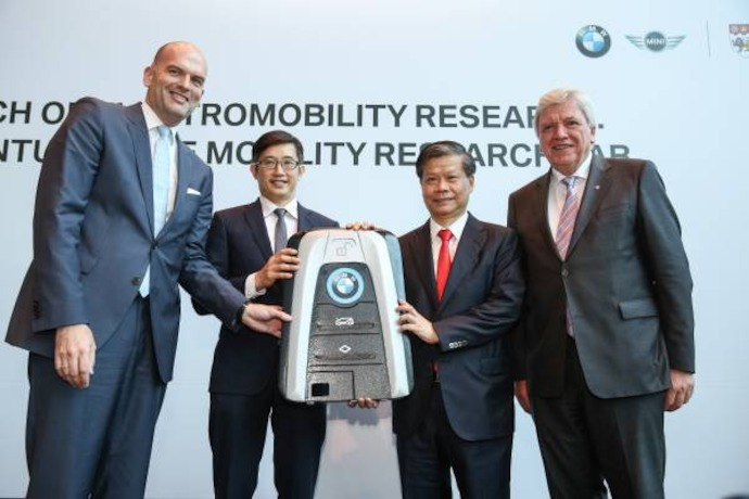 BMW Group and NTU embark on S$1.3 million electromobility research