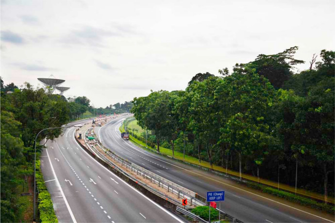 SG: New slip road along PIE complete