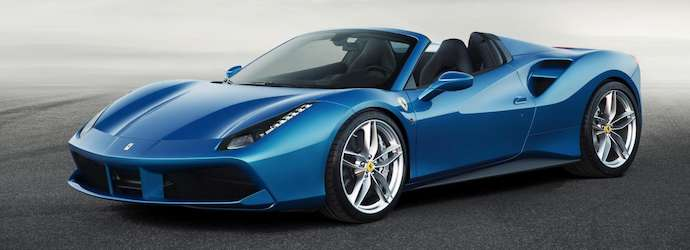The Ferrari 488 Spider:  Official unveiling scheduled for ...
