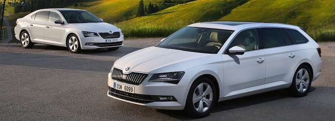 The new Skoda Superb GreenLine covers more than 1,100 miles ...