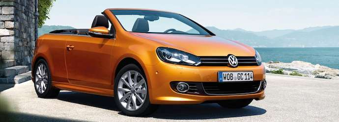 Volkswagen gives an Exclusive update for the Golf Cabriolet