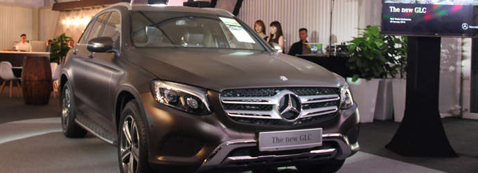 Mercedes-Benz's mid-sized SUV launched here - GLC 250 ...
