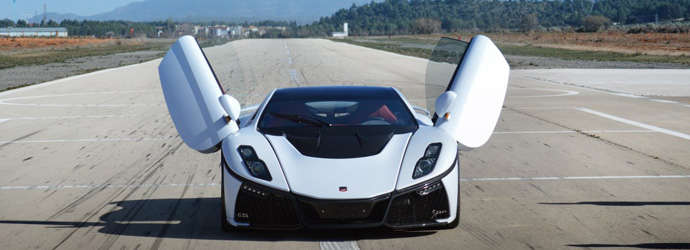 GTA Spano makes it way to Singapore