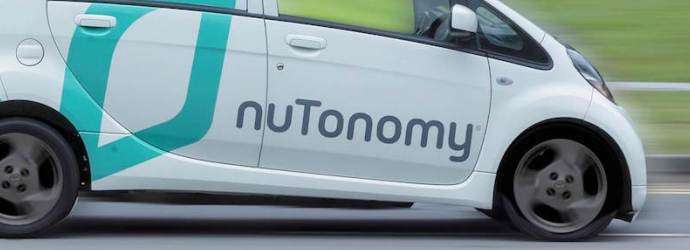 nuTonomy Launches Trial of Self-Driving Car Services and ...