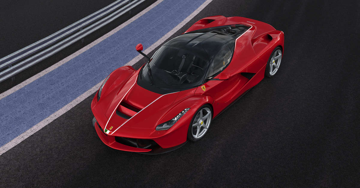 LaFerrari auctioned off for $7 million in the name of ...