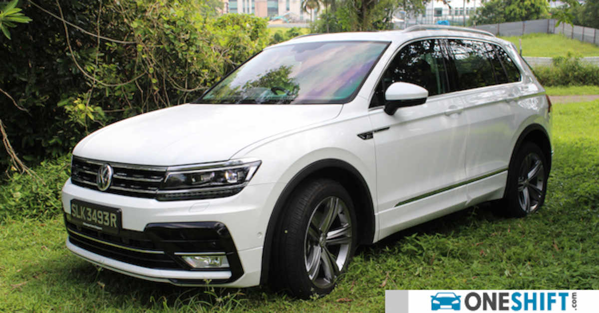 volkswagen tiguan 2 0 tsi r line 2017 review singapore. Black Bedroom Furniture Sets. Home Design Ideas
