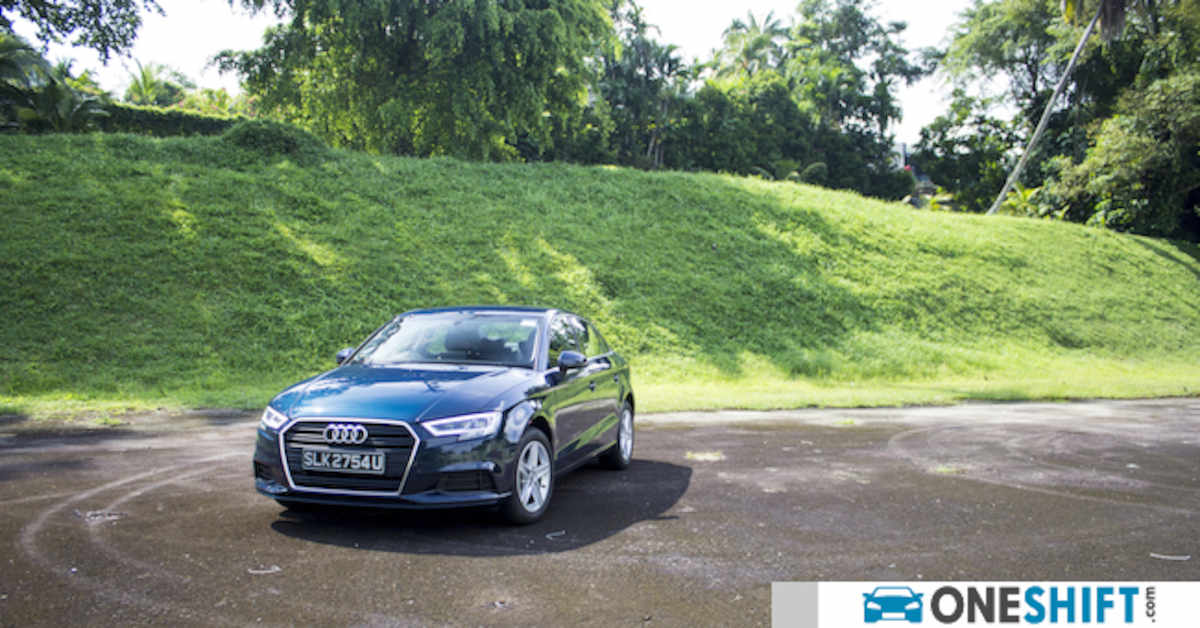 audi a3 sedan 1.0 tfsi s tronic 2017 review singapore - oneshift