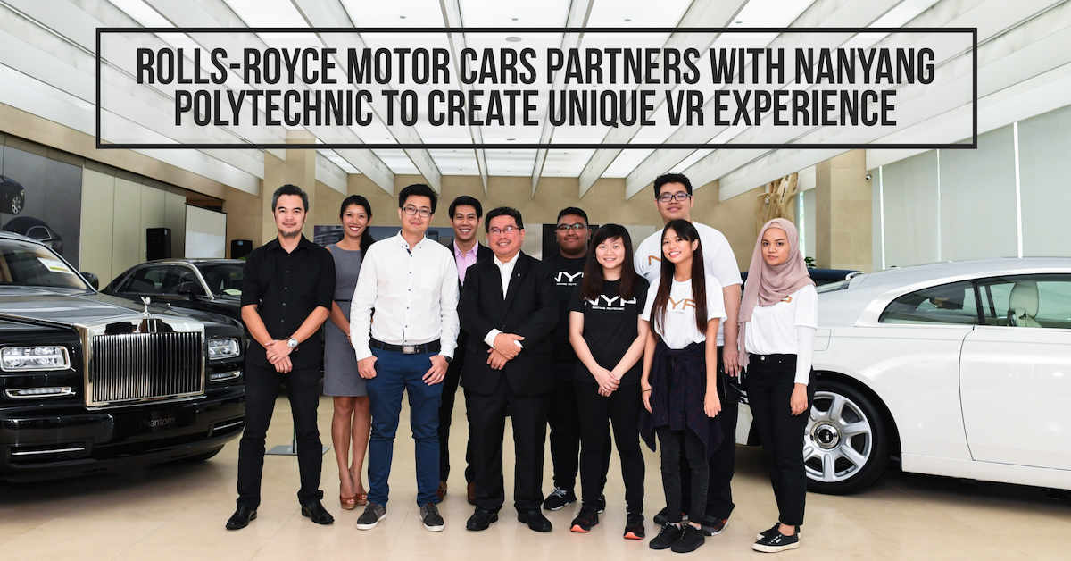 Rolls-Royce Motor Cars Partners With Nanyang Polytechnic To ...