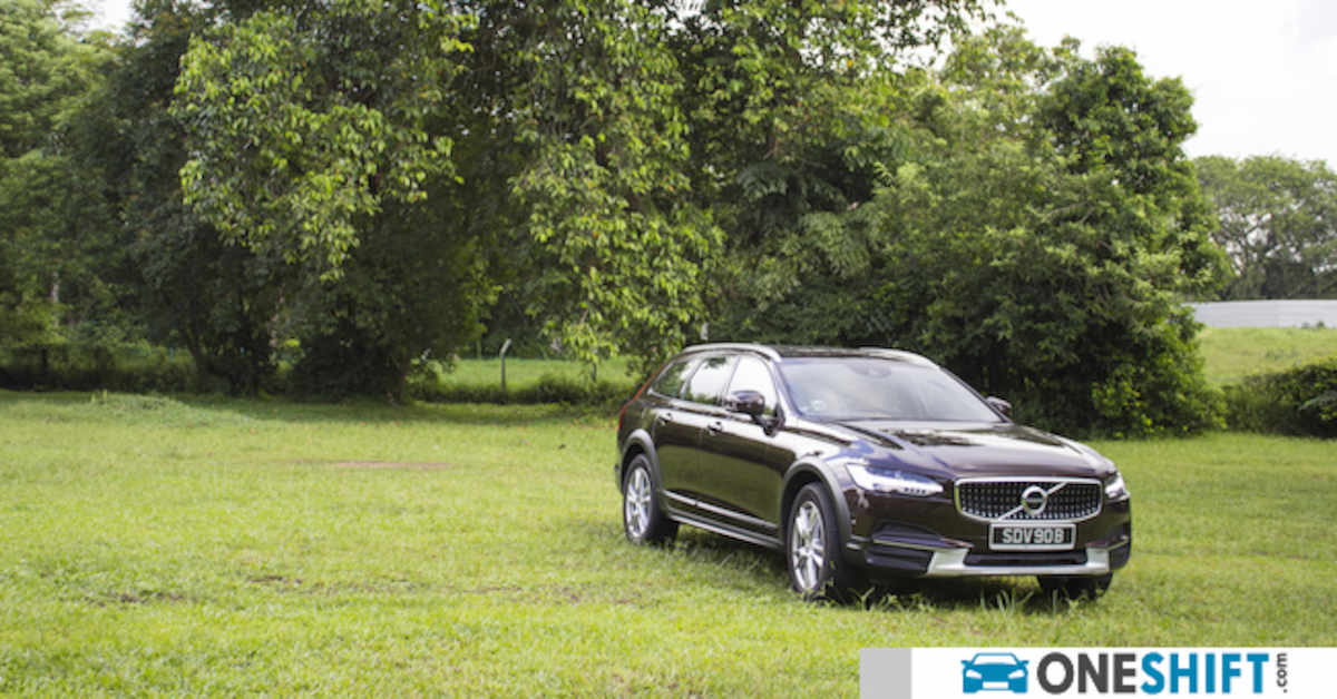 Volvo V90 Cross Country T5 2017