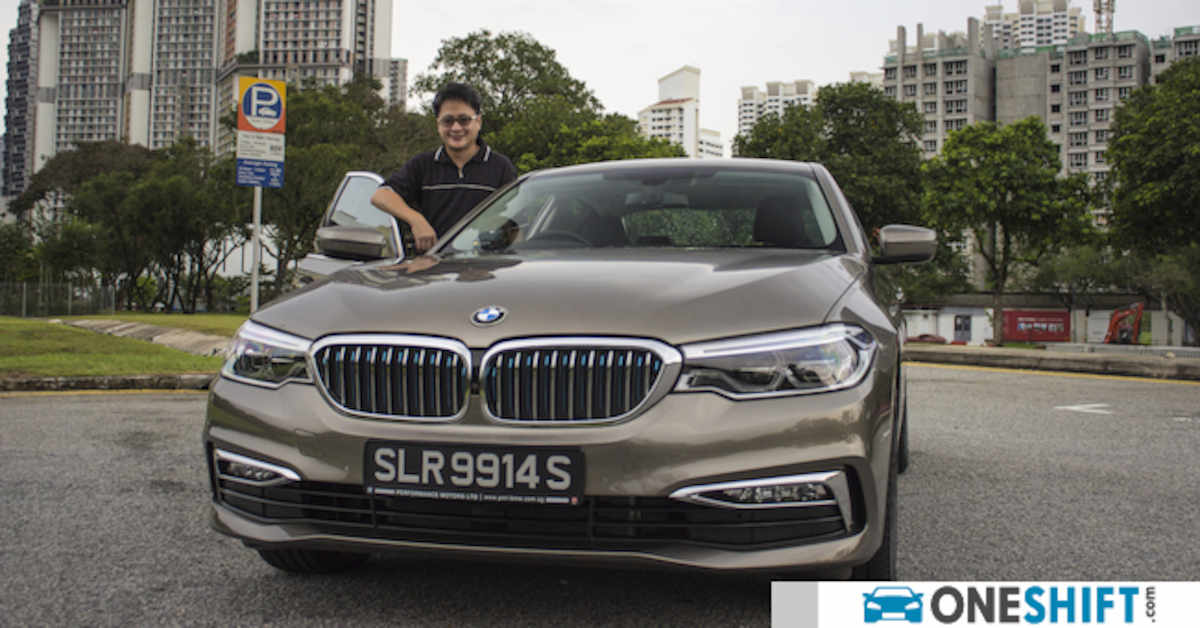 Oneshift Gets a Taste of The BMW 530e From The New ...