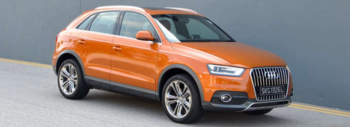 Audi Q3 2.0 TSI quattro 170 (A) Review