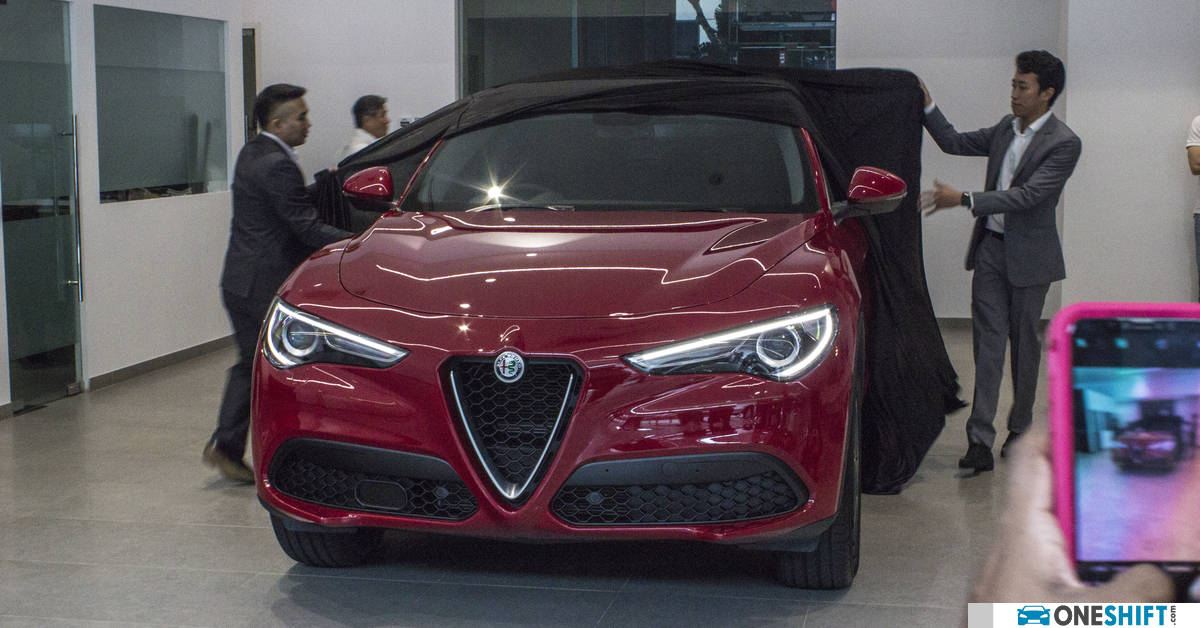 Stelvio Unwrapped - Alfa Romeo Launches its First SUV