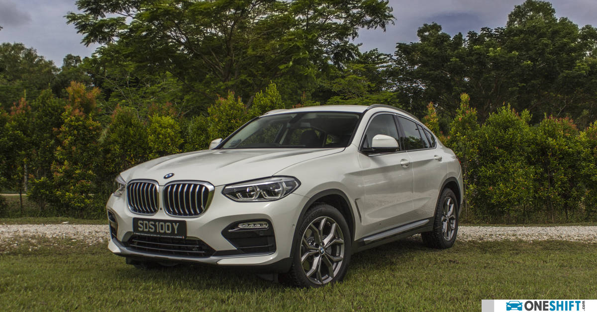 Bmw X4 Xdrive30i Xline 2019 Review Singapore Oneshift Com