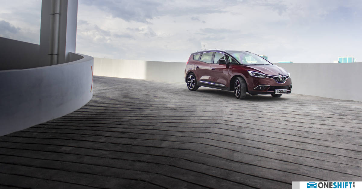 Renault Grand Scenic 1 5T dCI Bose Edition 2019 Review