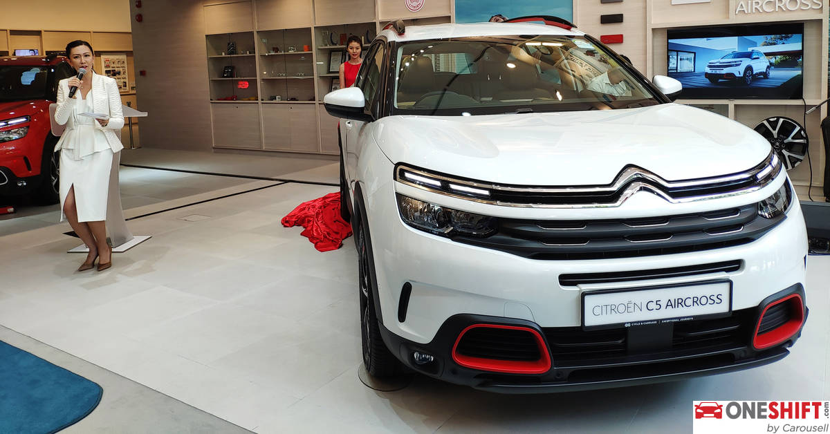 All-New 2019 Citroen C5 Aircross SUV - Progressive ...