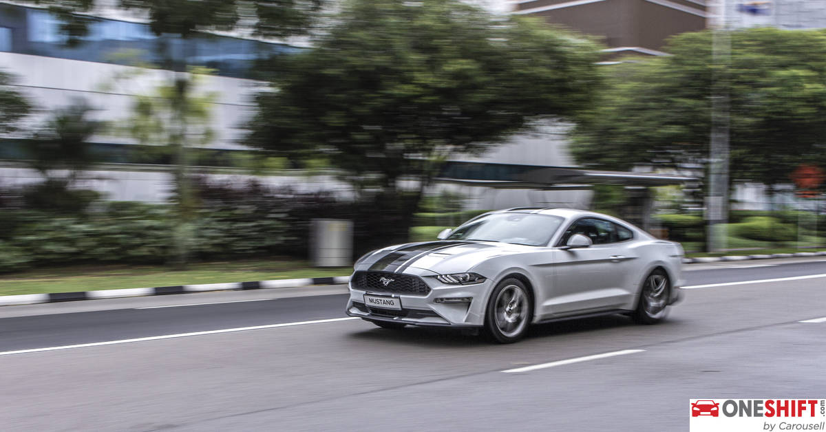 Ford Mustang 2 3 Ecoboost Coupe 2019 Review Singapore