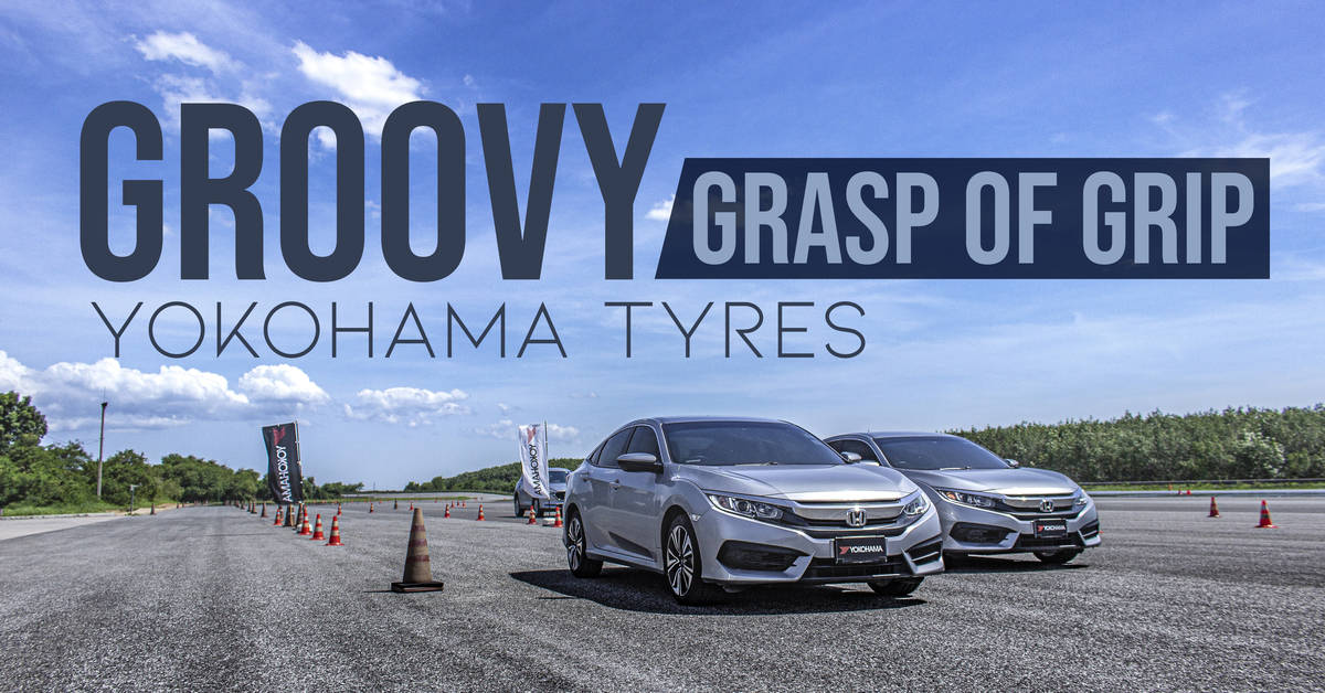 Groovy Grasp of Grip - Yokohama Tyres